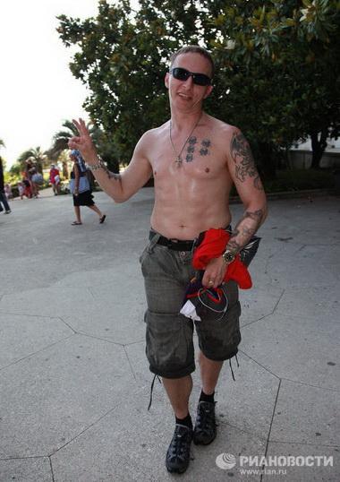 Татуировки Ивана Охлобыстина