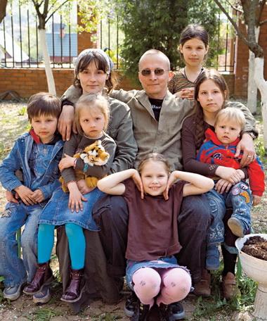Иван Охлобыстин и его семья