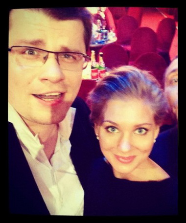 Кристина Асмус и Гарик Харламов