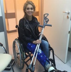 Кристину Асмус госпитализировали