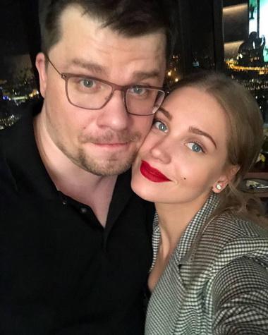 Кристина Асмус с мужем.